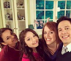 Mônica, Luna, Ana e Miguel