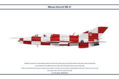 MiG-21 Croatia 5 by WS-Clave