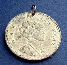 Princess Mary of England 1922 | Royal Medal Marriage Princess Mary England Daughter of George V 1922