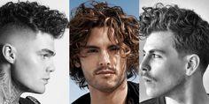 Τα καλύτερα ανδρικά κουρέματα για σγουρά μαλλιά Haircuts For Curly Hair, Curly Hair Styles, A Good Man, Barber, Hair Cuts, Hair Color, Room, Men, Beard Barber