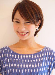 スタイリッシュな耳かけショート 【Matirde】 http://beautynavi.woman.excite.co.jp/salon/26150?pint ≪ #shorthair #shortstyle #hairstyle #shorthairstyle・ショート・ヘアスタイル・髪形・髪型≫