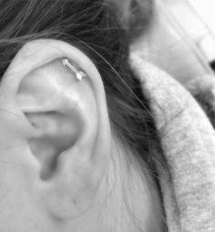 Arrow Cartilage Piercing