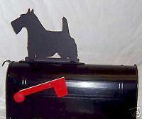 Scottie Dog Scottish Terrier Mailbox Topper Sign Steel   eBay