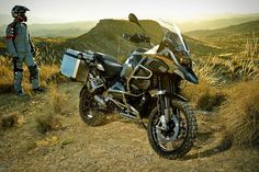 The BMW R 1200 Adventure Motorcycle embodies everything a motorcycle should be.  Style, form and function.  I want one.