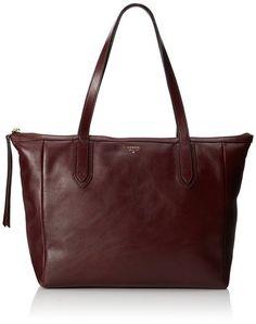 Fossil Sydney Shopper1 Shoulder Bag,Raisin,One Size