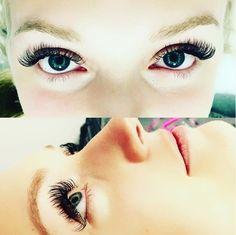 Can you believe this amazing set of lashes?!  Call today to schedule your appointment! #AmazingFabulashFriday  #lashextensionsAZ #lashenvynomore #lashenvyAZ #lashonlash #eyelashesAZ