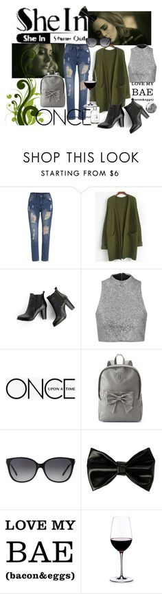 """Untitled #116"" by allofme555 on Polyvore featuring SWEET MANGO, Topshop, Once Upon a Time, Candie's, Michael Kors and Riedel"