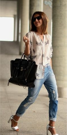 #bafafamoda Street style Jeans