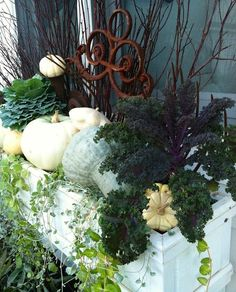 Beautiful and Creative Fall Window Box Planter Ideas - Onechitecture