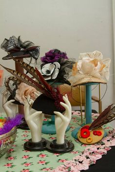 Make your own hats and fascinators with Lillian Bates.
