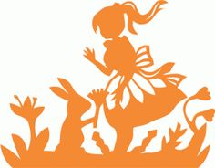 Silhouette Online Store - View Design #56682: alice in wonderland
