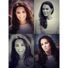 The different faces of Duchess Catherine #duchesscatherine #kate #KateMiddleton #faces #thelaughingduchess #smile #seriouslook #gorgeousface #britishroyal