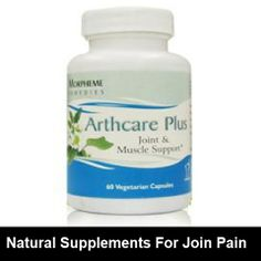 Arthritis natural supplements can be helpful for your joint pain. #arthritis_supplements