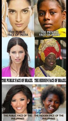 Black women, of the world