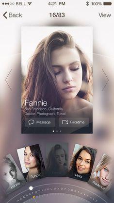 Inspiration Mobile #12 : Interfaces & éléments   Blog du Webdesign