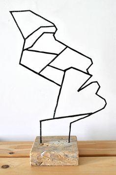 "Saatchi Art Artist Stavros Konidaris; Sculpture, ""Profile"" #art"