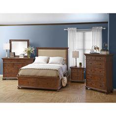 Jofran Geneva Hills Storage Platform Customizable Bedroom Set