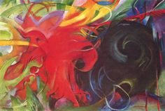 Fighting Forms by Franz Marc  See the best shows in New York on www.artexperience...