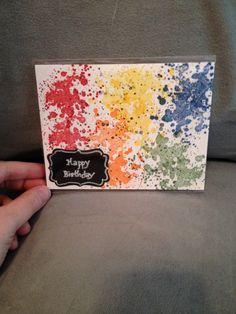 Homemade birthday card!