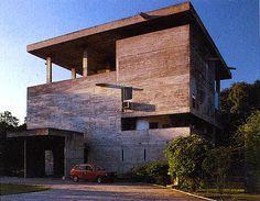 Le Corbusier Villa Shodan   Noviembre 2011   Materiales de Construcción