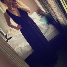 Cotton Maxi dress Super comfy maxi dress with low cut strappy back. Great condition! Forever 21 Dresses Maxi
