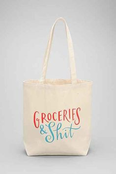 Emily McDowell Grocery Bag