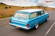 Paul Beauchamp's stroked and injected EH Holden wagon is as cool as they come Big Girl Toys, Toys For Boys, Girls Toys, Holden Wagon, Holden Muscle Cars, Holden Australia, Wagon Cars, Chevy Ss, Australian Cars