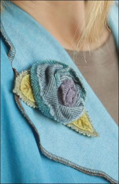 Indygo Junction's Fabric Flowers | Indygo Junction