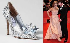 These days Cinderella has been in news, not for her missing shoe, but for a range of designer edition of her original glass slippers. After taking a look at the sketches of nine luxury designer shoe brands and Charlotte Olympia's Cinderella shoe, our attention was grabbed bywhat today's Cinderella, Lily James wore to premiere ofDisney's …
