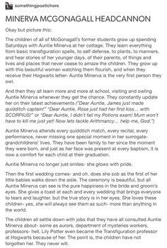 Auntie Minerva + the next generation part 1/2