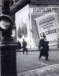 Jean Moral Paris 1930's 1930 2014…..rien ne change sous le soleil de France………