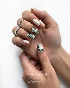 50 Trendy And Catchy Summer Nail Designs You Need To Try This Summer - Page 11 of 50 - Nail Art Design - - Cute Summer Nails, Cute Nails, Pretty Nails, My Nails, Summer Beach Nails, Summer Vacation Nails, Vacation Nail Art, Gorgeous Nails, Spring Nails