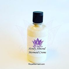 Honey Almond Lux Mermaid Creme kills dry skin instantly and works great right out of the shower for 24 hour moisture!   Take our quiz to find your perfect fragrance! RoyalMermaid.com #royalmermaid #thecaptain #nomoredryskin #soothing #eczema #hormonesafe #pcossafe #pcos #psoriasis #shopsmall #gifts #birthday #bathfizzies #cleanser #skinpolish #mermaid #mermaidcreme #seasoak