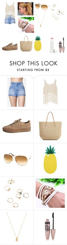 """Walk"" by alexandra-ac on Polyvore featuring moda, Kendall + Kylie, Target, Champion, Tom Ford, Miss Selfridge, Wanderlust + Co, Maybelline, Jane Iredale ve simple"