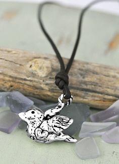 Big Bird Necklace - Bird Necklace -Bird Jewelry - Inspirational Jewelry - Inspirational Necklace - Island Cowgirl Jewelry