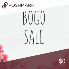 "BOGO SALE 4/7-4/9 All items marked with a 🔴 are BUY ONE GET ONE!                   ••Sale is 4/7-4/9.                                                                                  ••If you've shopped with me before I can reserve a bundle for you with this deal.                                                                       ••Use the ""add to bundle"" feature then put an offer in on the higher priced item or items, I'll accept. Happy shopping! ⭐️ Other"