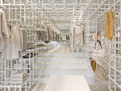 Stills (fashion flagship store) by Doepel Strijkers Architects, Amsterdam