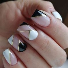40 Classy Nail Art Design Ideas That Trending This Season - Nail art designs Classy Nail Art, Trendy Nail Art, Stylish Nails, Beautiful Nail Designs, Cute Nail Designs, Acrylic Nail Designs, Cute Nails, Pretty Nails, Gel Nails