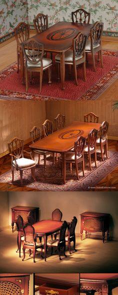 The Ferd Sobol Editions: The Sobol Editions Dining Set Workshop
