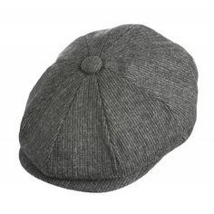 Sixpence / Flat cap - Jaxon Union Newsboy Cap (mørkegrå)