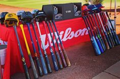 @wilsonballglove & company held their elite baseball club by invite only tourney this past weekend in #pheonix. The amount of #hookup #gear the winners got is disgusting. Check out some of those images on our site.  #bpweather @sluggernation @demarini