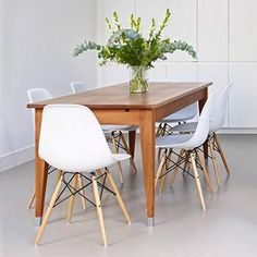 eames dining chair table - Google Search