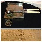 Rare French EP 161 Paris Civil War Era Cauterization Kit Complete Museum Piece