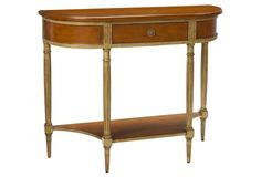 "Clichy 38"" Console, Light Cherry"