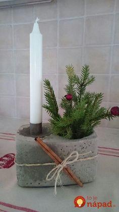 Concrete candle Source by ulrdah Concrete Crafts, Concrete Projects, Diy Projects, Concrete Forms, Concrete Art, Poured Concrete, Christmas Crafts, Christmas Decorations, Cement Art