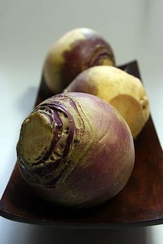 The Ravishing Rutabaga - or - It's Not a Turnip, People: four recipes for using a misunderstood root vegetable — Affairs of Living Purple Vegetables, Fruits And Veggies, Fruits And Vegetables, Whole Food Recipes, Vegan Recipes, Swede Recipes, Candida Recipes, Diet Recipes, Savarin
