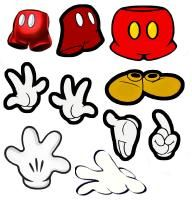 clip art of Mickey's hands, pants and shoes - The DIS Discussion Forums - DISboards.com