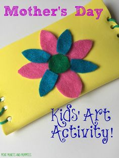 Handicrafts for Mother's Day for kids: DIY purse - Diy Wallet Diy Mother's Day Crafts, Mother's Day Diy, Foam Crafts, Craft Foam, Mothers Day Crafts For Kids, Diy For Kids, Diy Wallet Making, Diy Purse, Art Activities