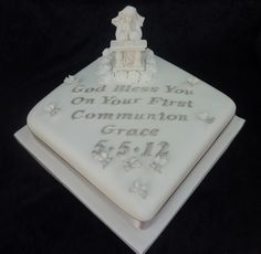 First Communion Cake - First Communion Cake