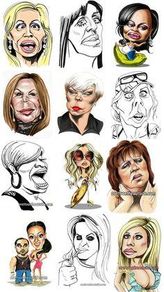 Love Bravo shows & this artist! Haha!